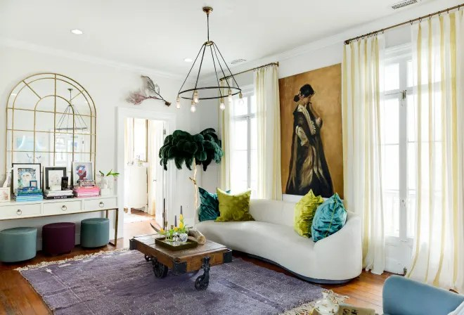 An Older Charleston Home Is an Inspiring, Eclectic Art Haven