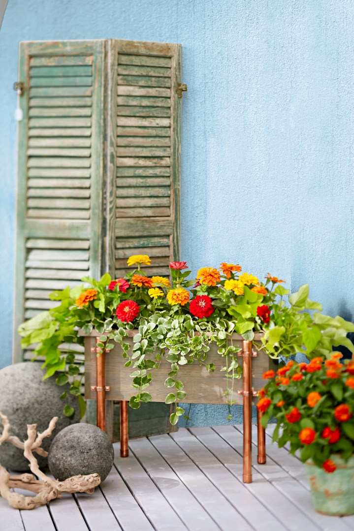 1. Build a Porch Planter