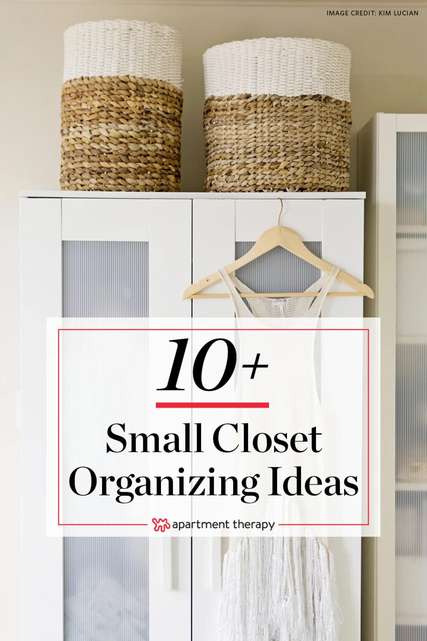 Closet Storage Ideas - Small Closet Organization ... on Small Apartment Organization  id=63691