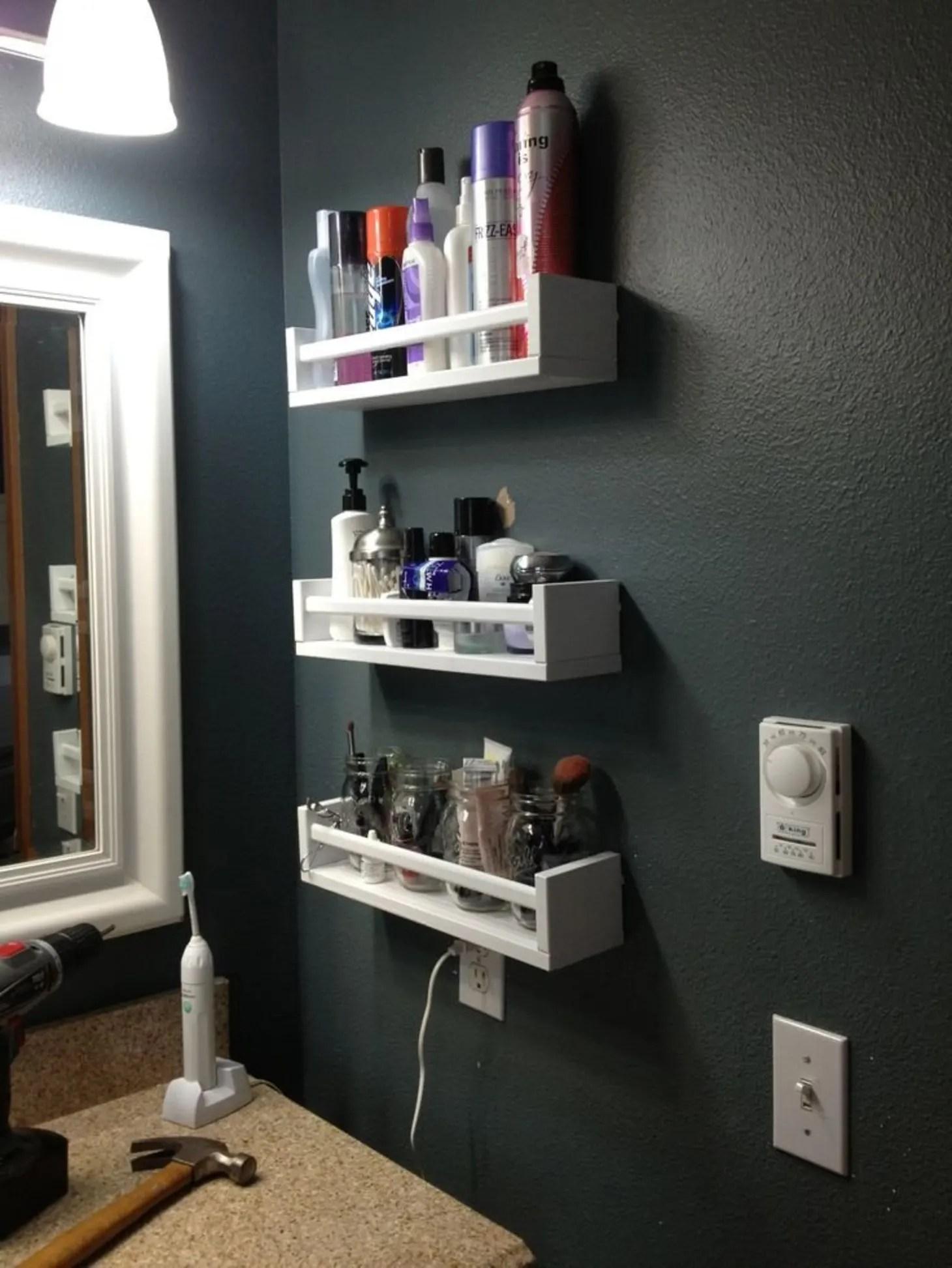 Bathroom Storage Ideas - Storage For Small Bathrooms ... on Small Apartment Bathroom Storage Ideas  id=97401