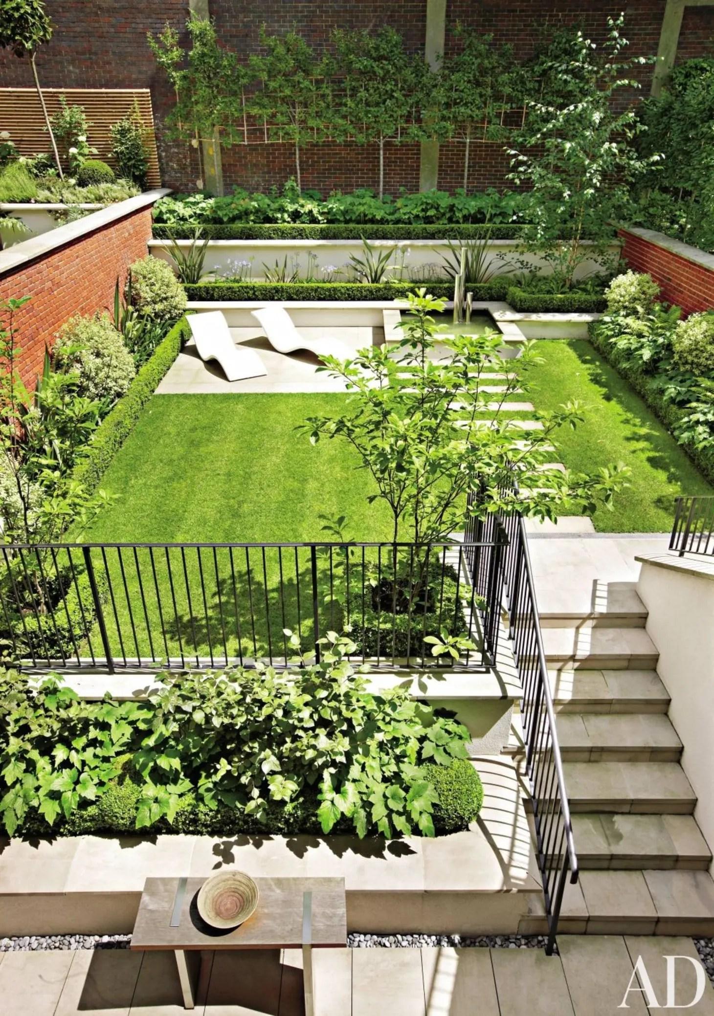Landscape Inspiration: A Dozen Lush & Lovely Townhouse ... on Townhouse Patio Ideas id=20856