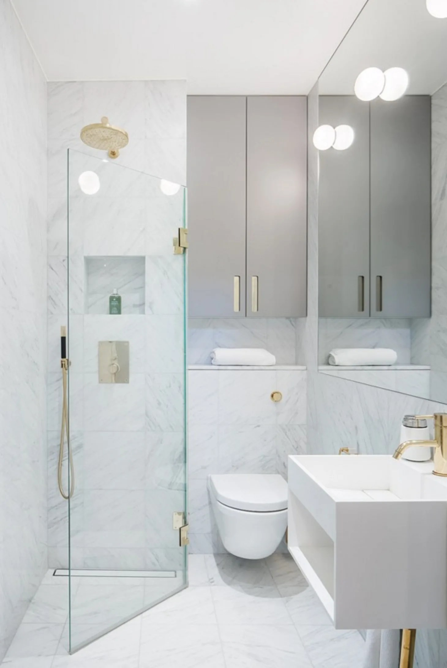 Stylish Remodeling Ideas for Small Bathrooms   Apartment ... on Small Apartment Bathroom  id=12099
