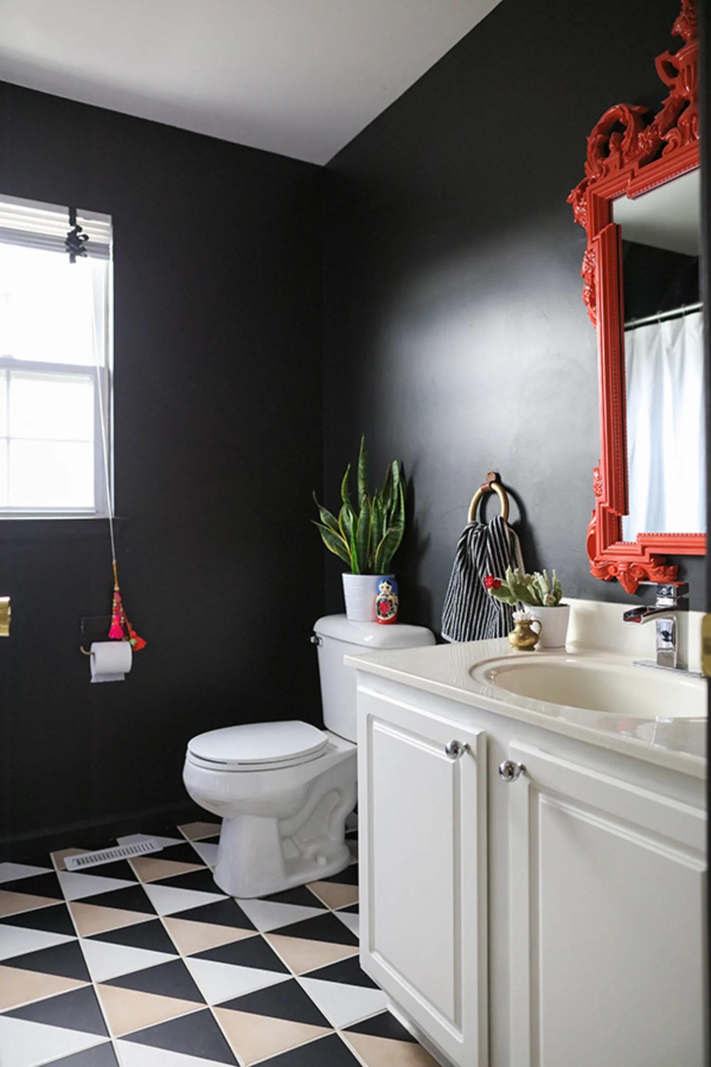 Reinvent Your Rental: DIY Ideas to Revive Rental Bathrooms ... on Apartment Bathroom Ideas  id=85582