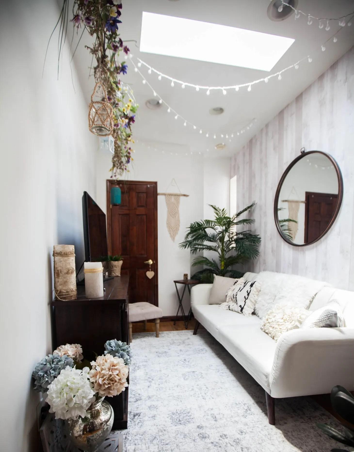 30 Small Living Room Decorating & Design Ideas - How to ... on Small Space Small Living Room Ideas  id=43482