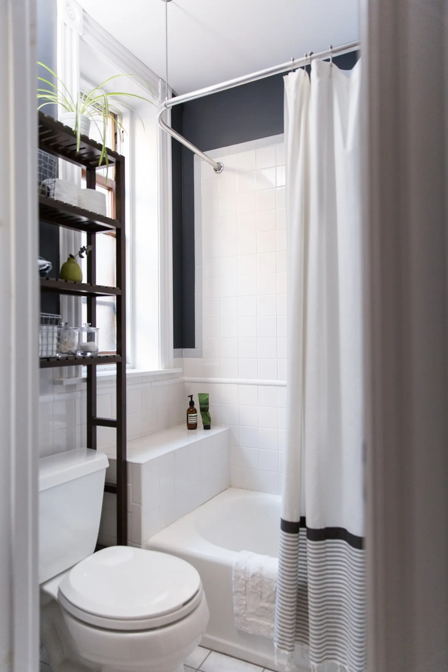 Best Paint Colors for Small Bathrooms   Apartment Therapy on Small Apartment Bathroom  id=25068