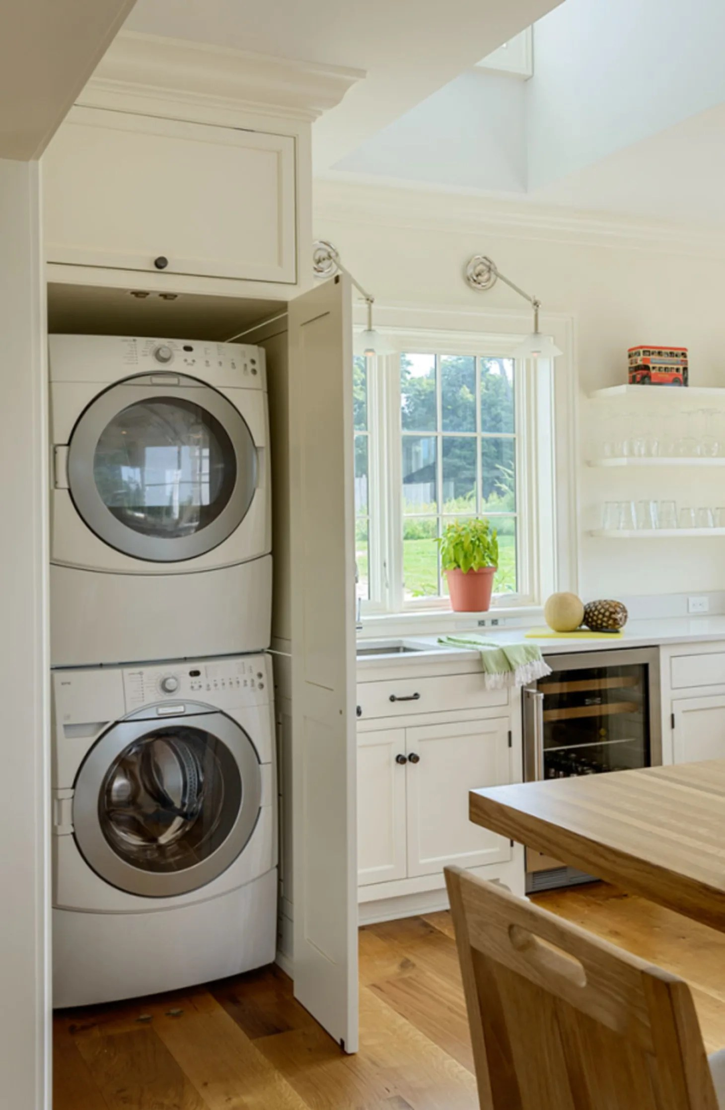 Small Laundry Room Remodeling Ideas   Apartment Therapy on Small Space Small Bathroom Ideas With Washing Machine id=15614