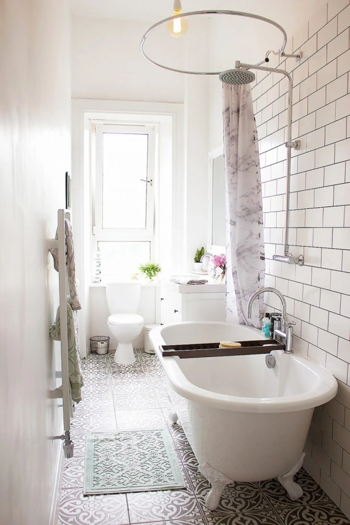 Stylish Remodeling Ideas for Small Bathrooms | Apartment ... on Small Apartment Bathroom Storage Ideas  id=91895