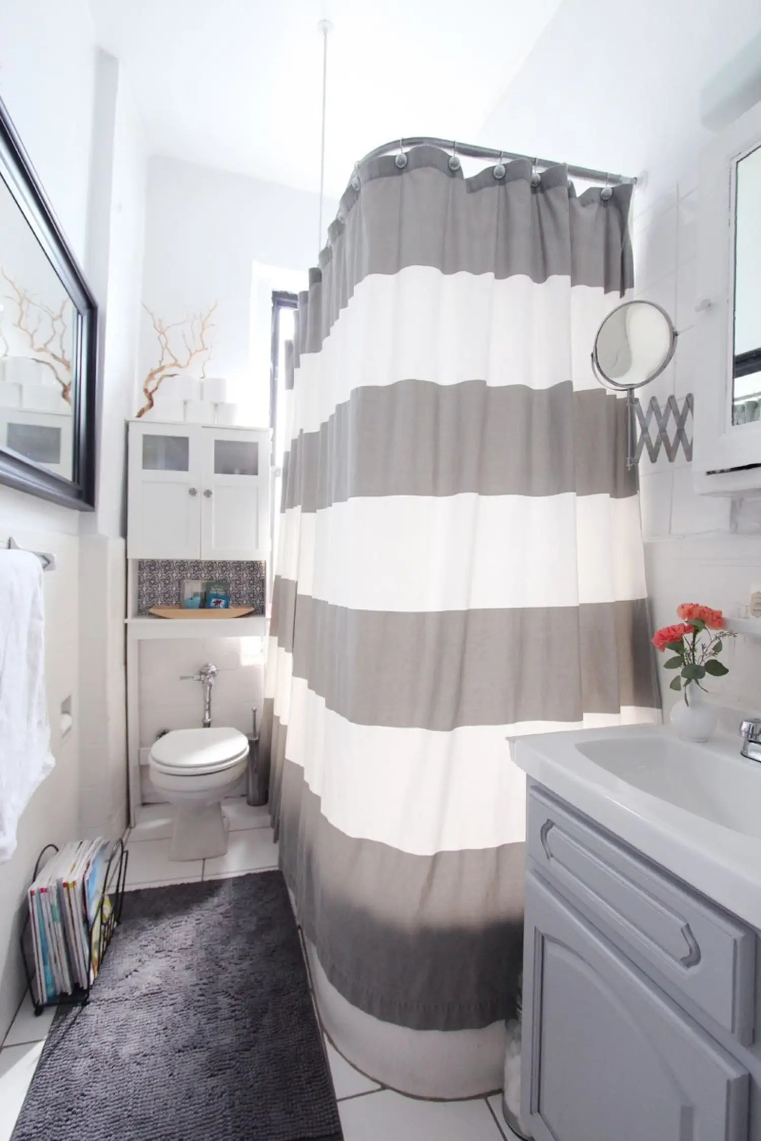 8 Bathroom Bettering Ideas You Can Do (When You Can't ... on Apartment Bathroom  id=99370