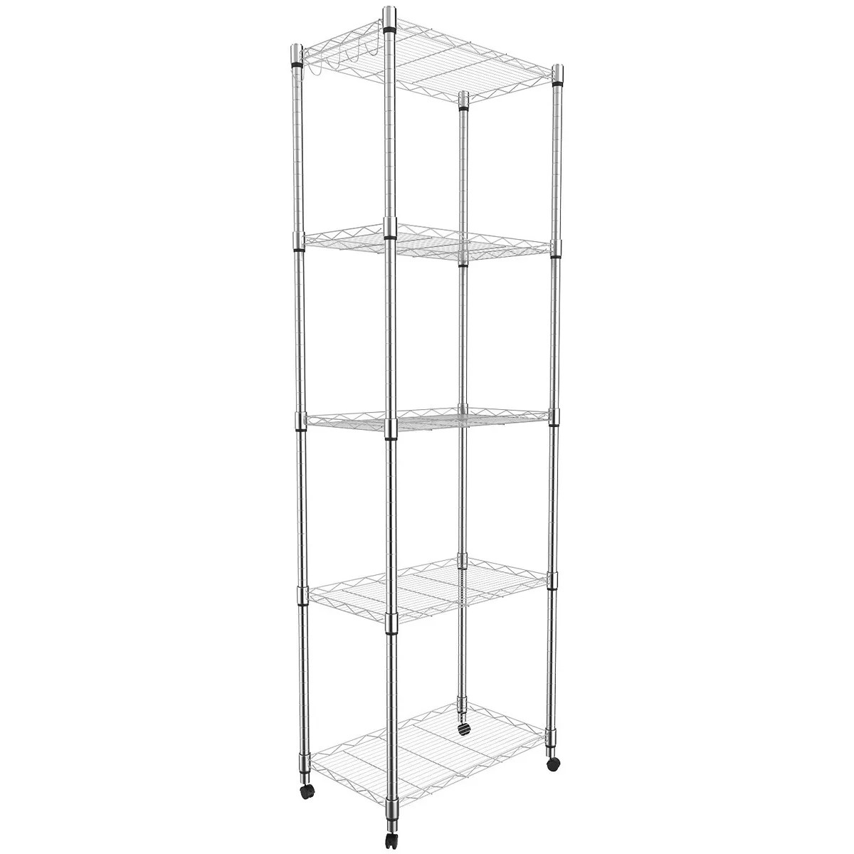 Wire Shelving Rental Kitchen Solution