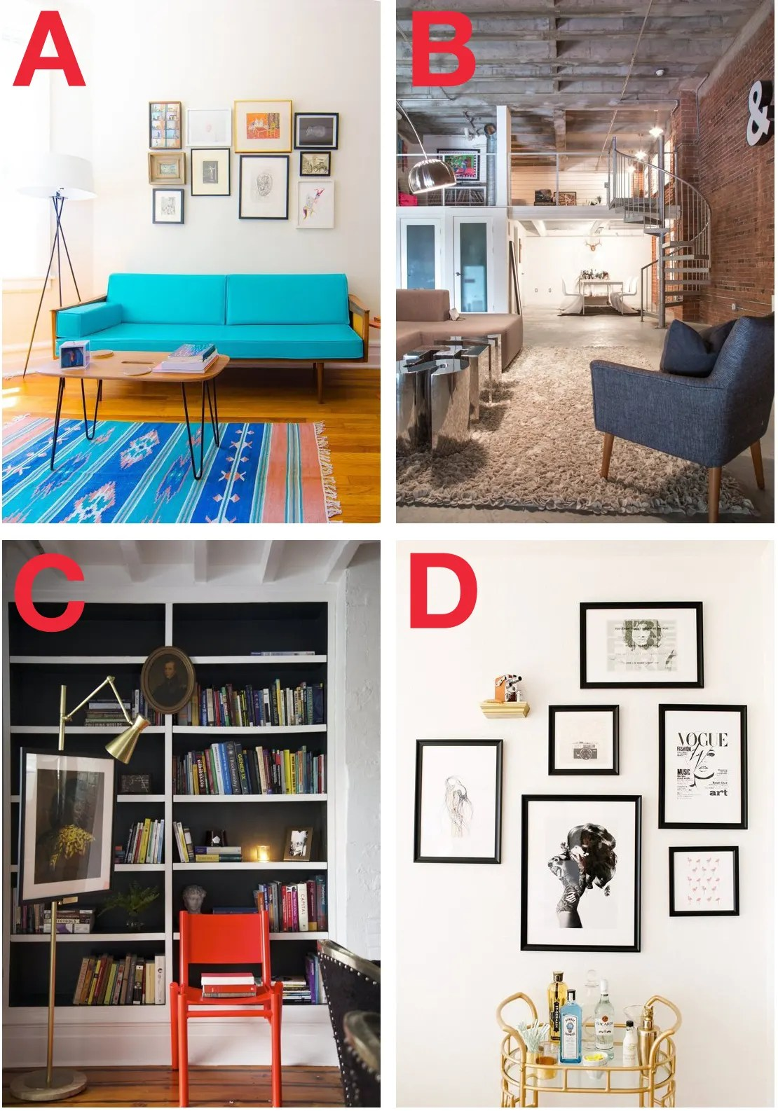 Apartment Decorating Style Quiz