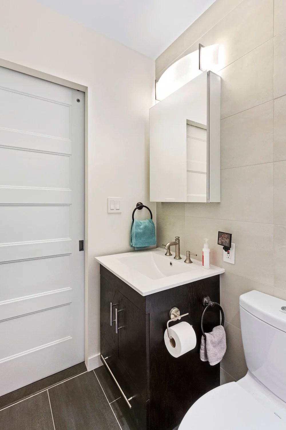A Bathroom Remodel in a Small NYC Apartment   Apartment ... on Small Apartment Bathroom  id=19784