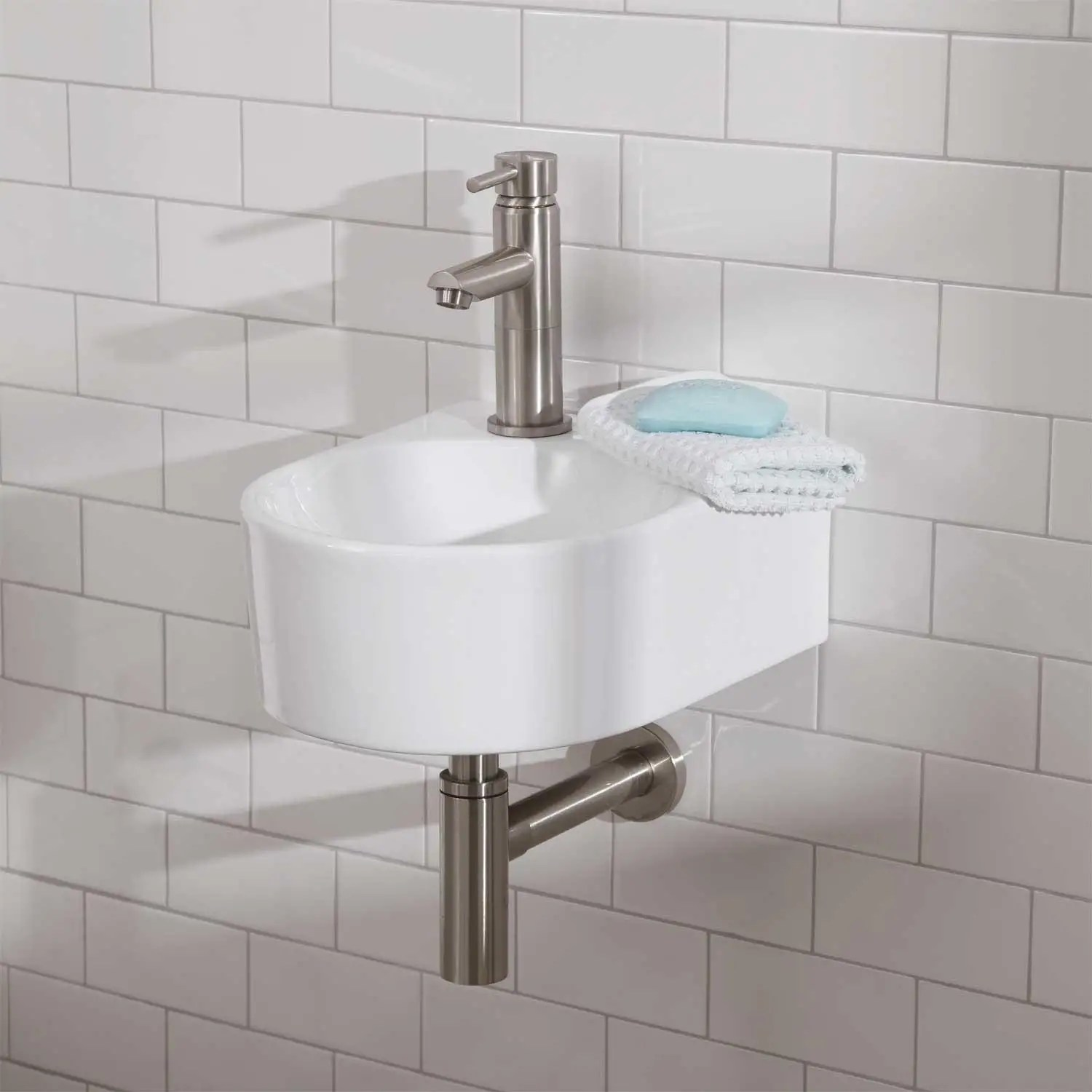 Small Bathroom Vanities and Sinks for Tiny Spaces ... on Small Space Bathroom  id=53097