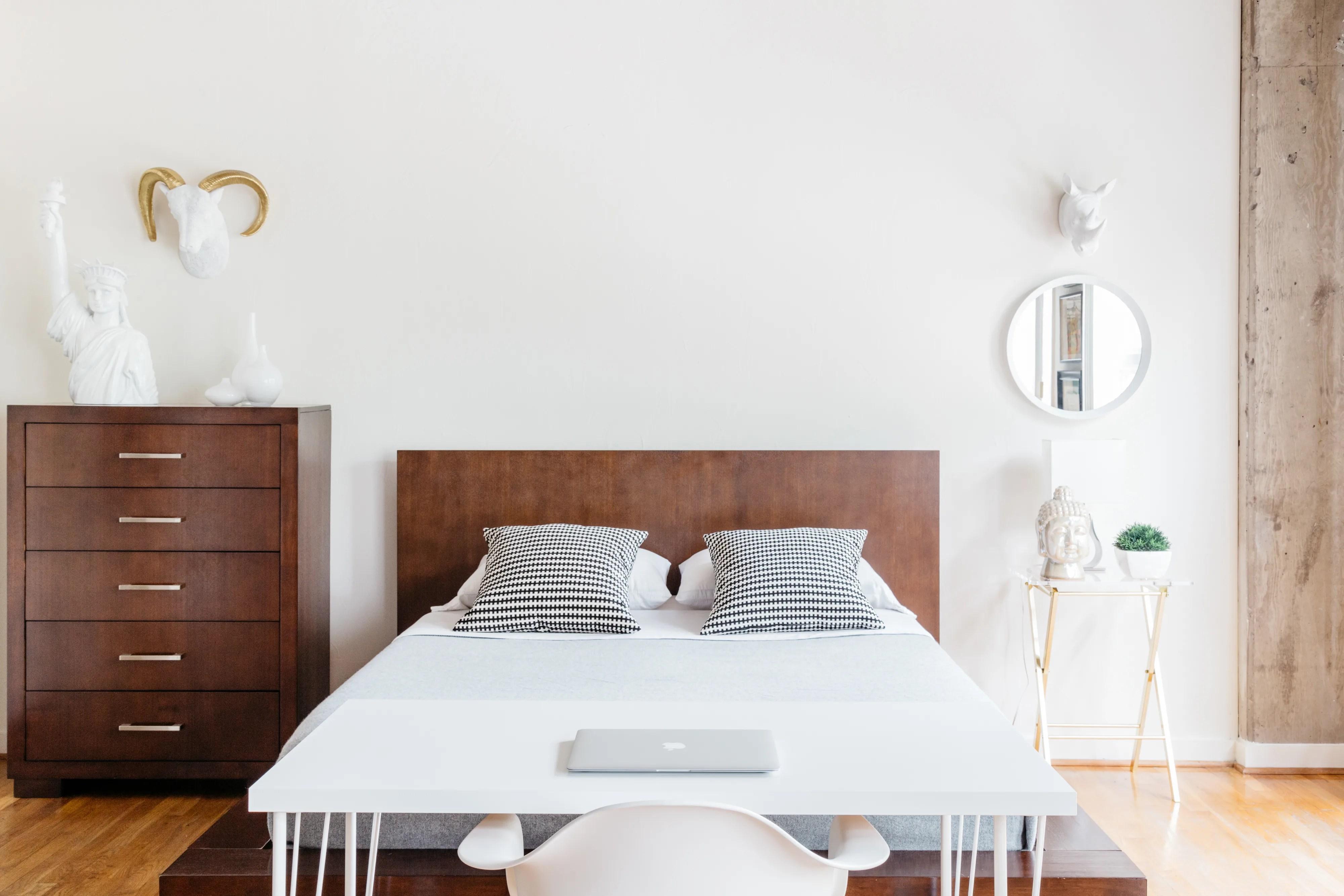 Minimalist Bedroom Ideas (That Aren't Boring) | Apartment ... on Bedroom Minimalist Ideas  id=64314