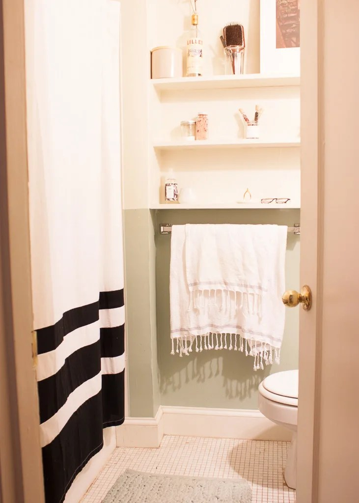 Small Bathroom Design & Storage Ideas | Apartment Therapy on Small Apartment Bathroom Storage Ideas  id=78744