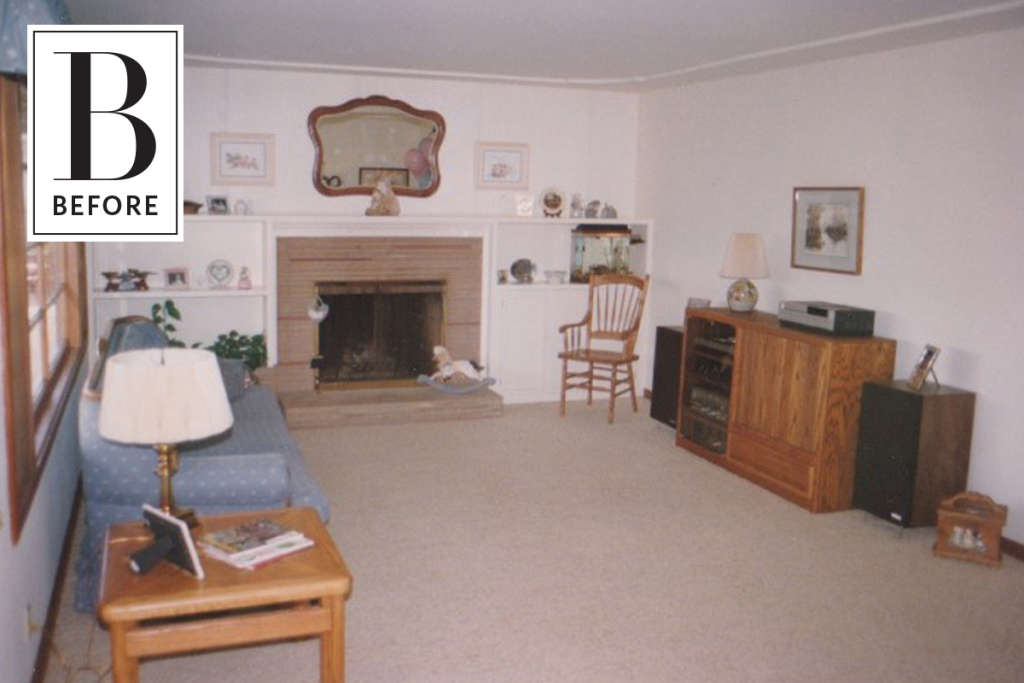 Before and After: '90s Living Room Dark Makeover ... on 90 Room  id=47301