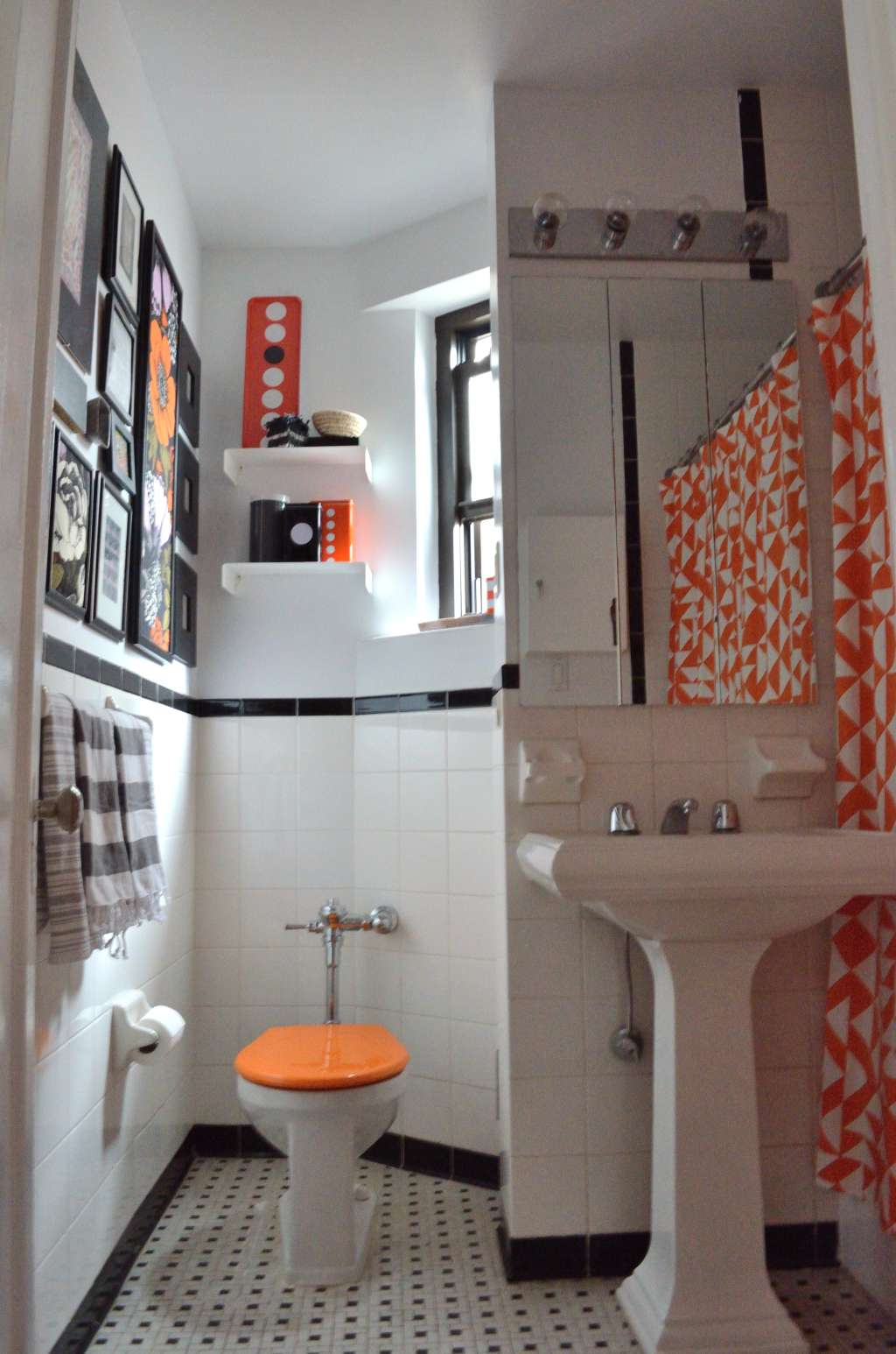 Apartment Therapy Contributor Style: Erin's Own Bathroom ... on Apartment Bathroom  id=38612