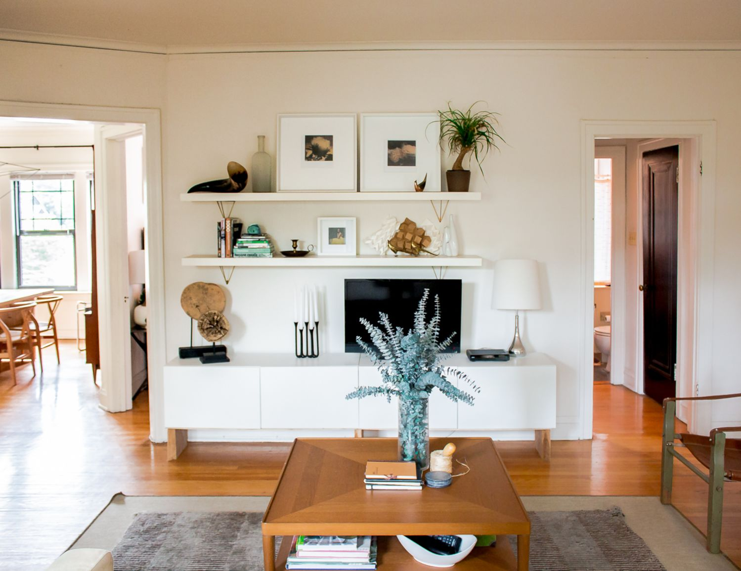 Wall Shelving - Budget Living Room Storage Under $100 ... on Best Sconces For Living Rooms Near Me id=59880
