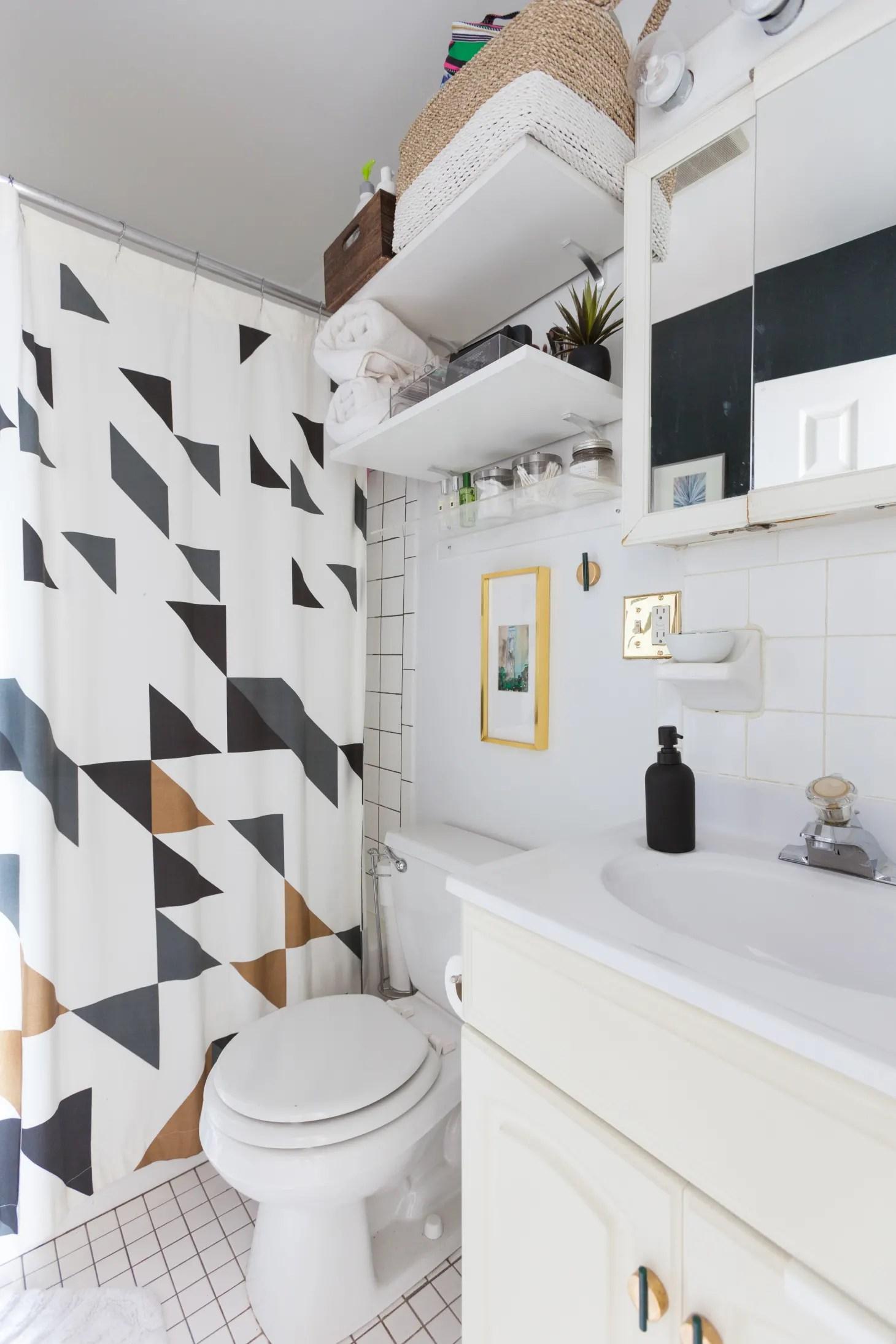 25 Small Bathroom Storage & Design Ideas - Storage ... on Bathroom Ideas Apartment  id=97211