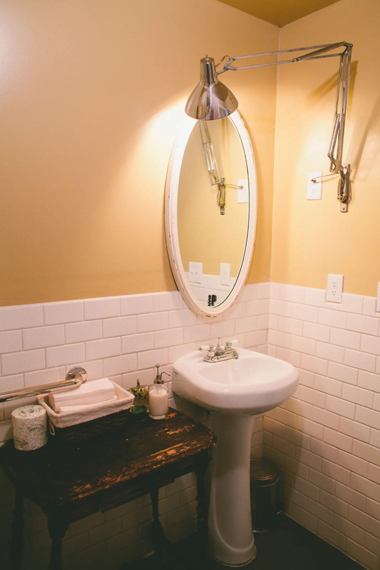 Small Bathroom Ideas: 6 Room Brightening Tips for Tiny ... on Small Restroom Ideas  id=86534