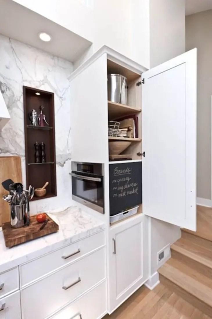 microwaves in the kitchen hidden