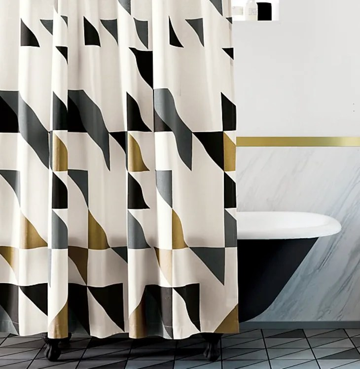 the best stylish patterned shower
