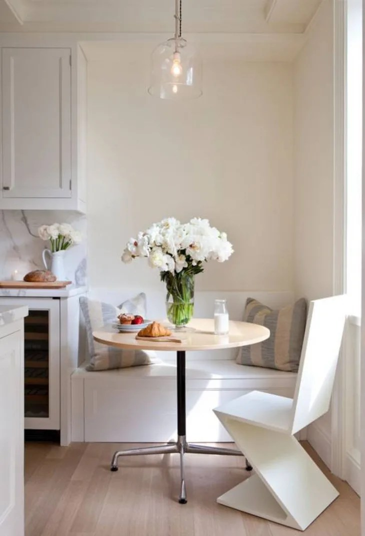 Banquette Built In Benches Add Smart Kitchen Seating Apartment Therapy