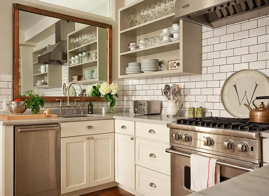 no window over the kitchen sink hang a