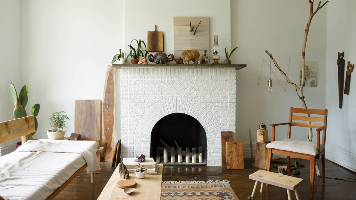 The 20 Best Mantel Ideas How To Decorate A Fireplace Mantel Apartment Therapy