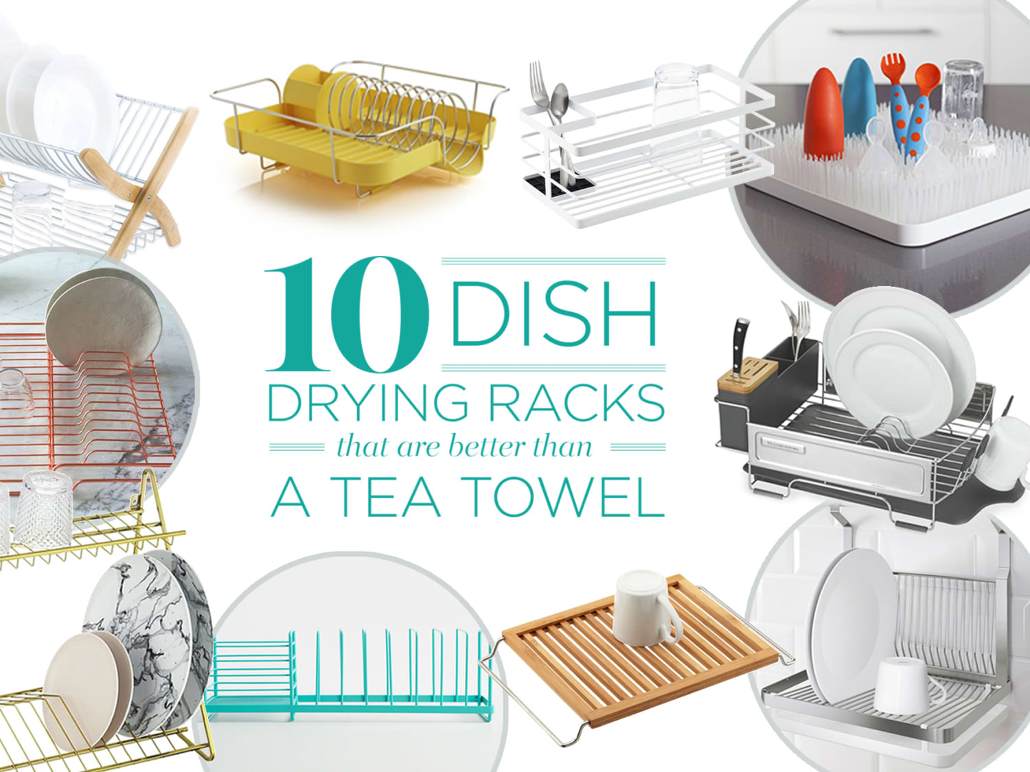 10 dish drying racks that are better
