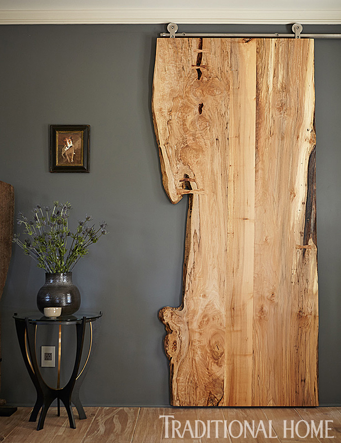 live edge and raw wood decorating ideas