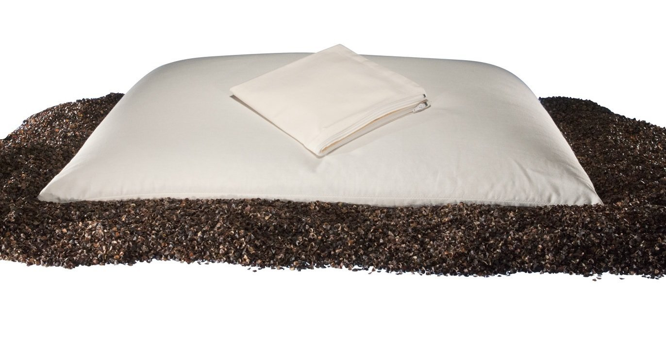 we tested a miracle buckwheat pillow