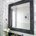 Frameless Bathroom Mirror Ideas Easy Budget Upgrades Apartment Therapy