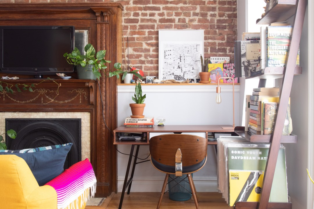 A 208-Square-Foot Brooklyn Studio Apartment Feels Much Bigger