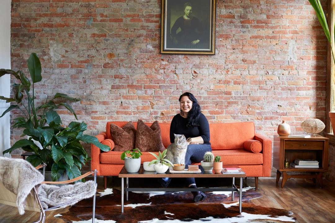 A Vintage Dealer's Seattle Home Is a Quirky, Mid-Century, Desert-Inspired Live and Work Loft