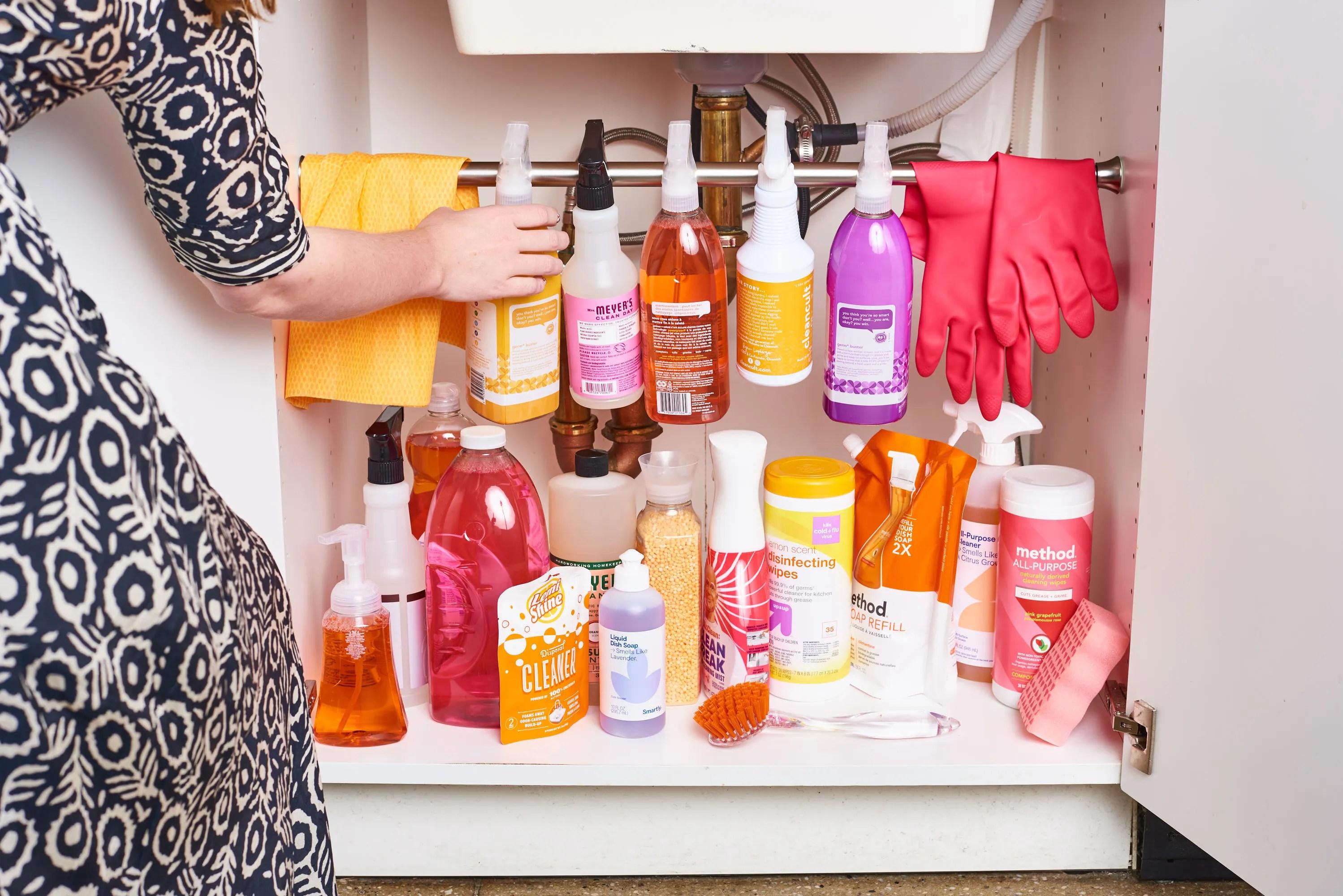 13 genius kitchen cabinet organization ideas