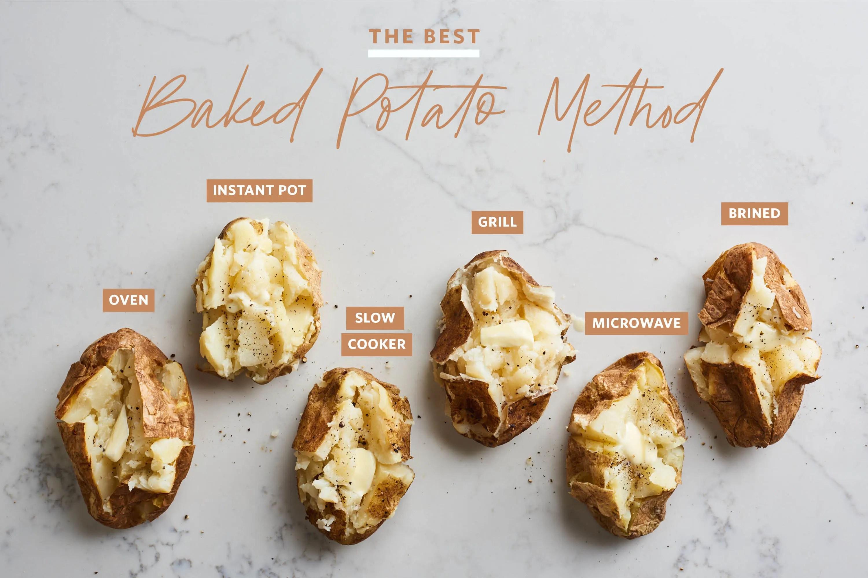 cook jacket potatoes