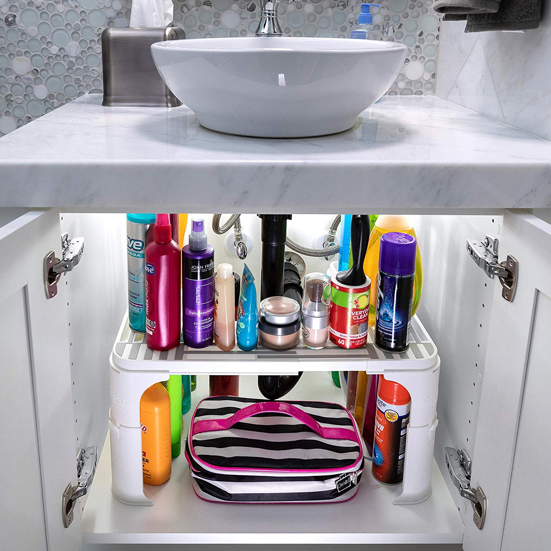 best under sink storage solution amazon