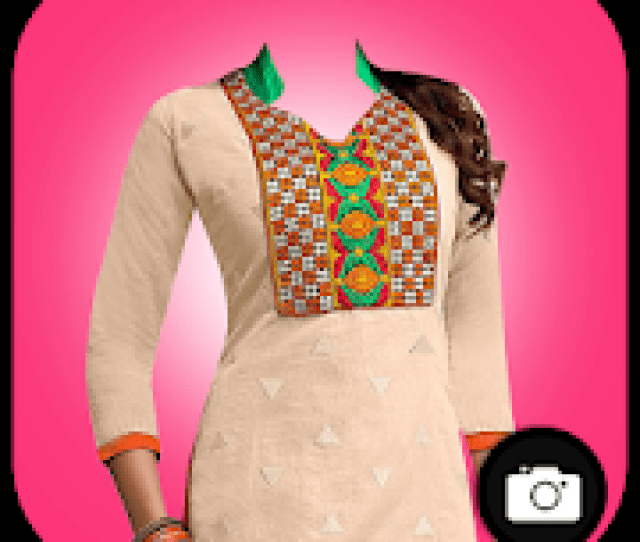 Woman Salwar Suit Photo Maker