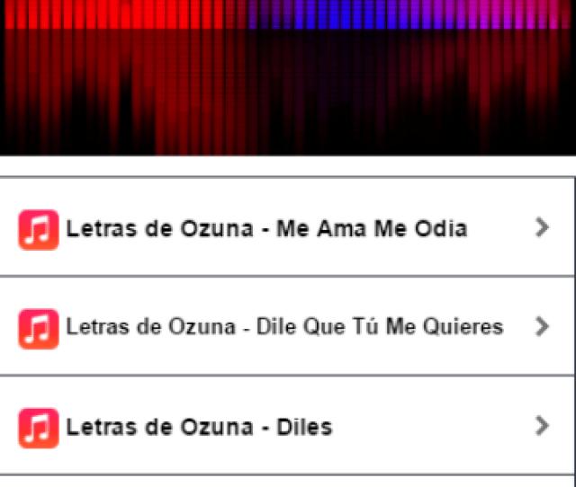 Ozuna Diles Musica Letras