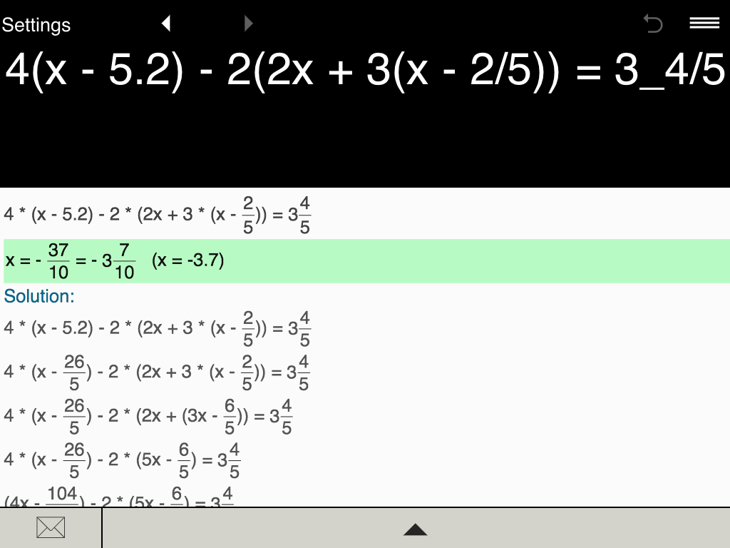 Solving Linear Equations In Two Variables Calculator