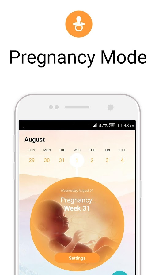 Image result for period tracker pregnancy