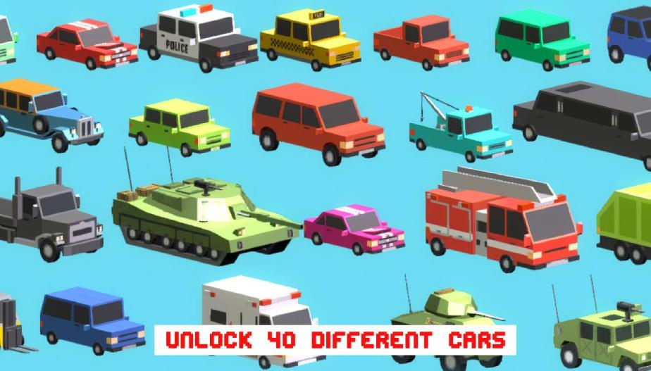 Download Smashy Road Mod Apk-Get [Unlimited Cars/Money/Cheat Features]