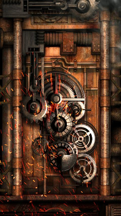 Steampunk Live Wallpaper Gears 8 0 Apk Download Android