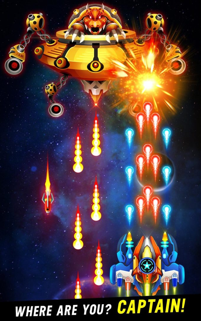 Space Shooter Galaxy Attack Your Missions
