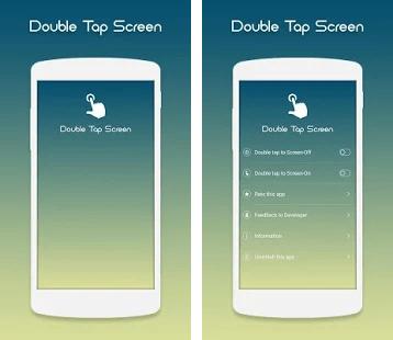 Hasil gambar untuk Double Tap Screen On And Off apk