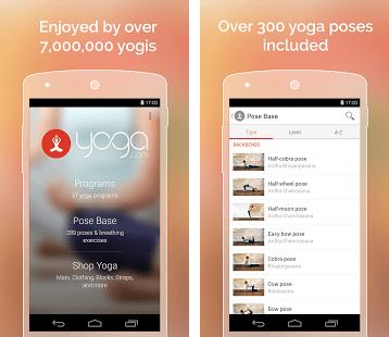Meilleures Applications de Yoga pour Android
