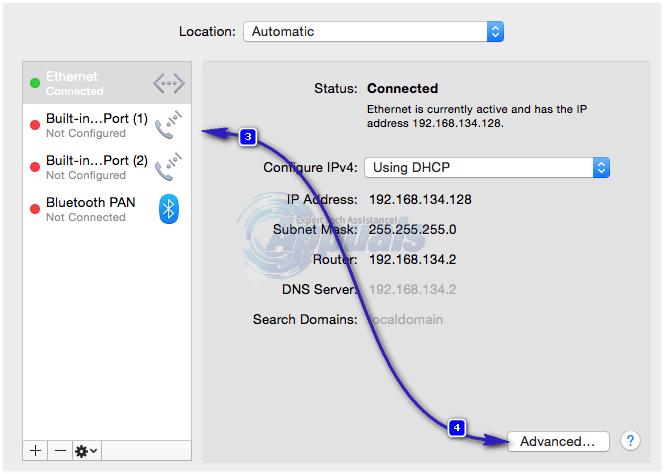 DNS-Einstellungen Mac-2