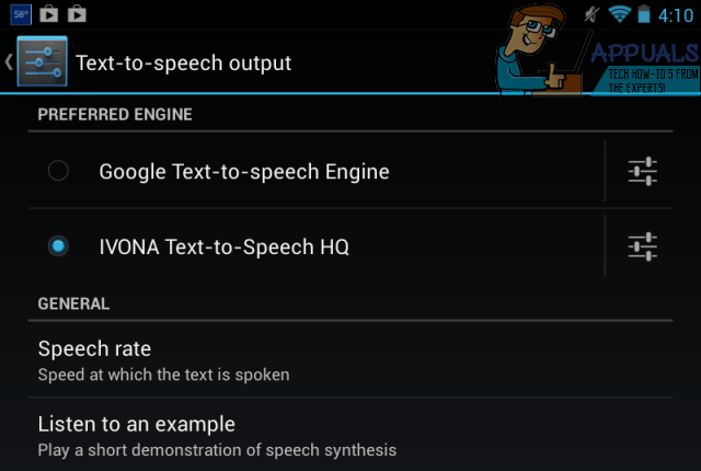 Google Text-to-Speech-Engine
