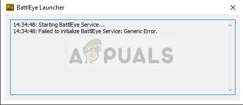 BattlEye-Dienst konnte nicht initialisiert werden: Allgemeiner Fehler in Fortnite