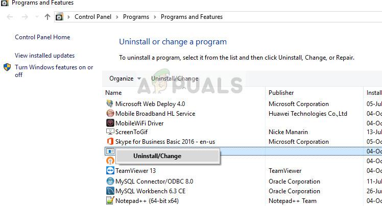 Quicken deinstallieren - Windows 10